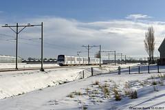 Rotterdam - 5514+5512 : winter! (1), 12-12-2017 (Paul van Baarle) Tags: bombardier flexity swift rsg3 emu metrolijn metro lightrail e rotterdam randstadrail randstad pijnacker denhaag zuidholland 5514 5512 winter wonderland sneeuw snow schnee neige thehague metrostel treinstel nederland netherlands holland dutch paybas nikon d800 travel transport transportation rail hiver