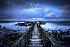 Pans Rock (deanallanphotography) Tags: travel beach landscape coast northernireland jetty