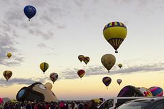 Albuquerque International Balloon Fiesta 2017 - 15 (rschnaible) Tags: albuquerque hot balloon festival fiesta new mexico color colorful air flight transportation outdoor sport sunrise