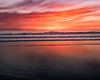 Sunset at Huntington Beach (meeyak) Tags: hb huntingtonbeach orangecounty southerncalifornia california usa ocean beach waves water sea reflection colors sunset warm fall orange night meeyak nikon d5500 1635mm seascape landscape travel vacation adventure outdoors