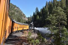 Blow down (std70040) Tags: denverriogrande denverandriogrande durangosilverton k28 steam steamengine steamlocomotive steamtrain