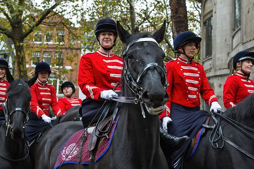 Princess Royal's Volunteer Corps, Lord Mayor's Show, London, 11 Nov 2017