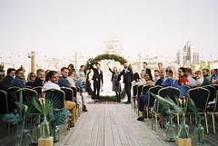 Wedding POV (trom.pom) Tags: 35mm analog contaxt2 wedding pov aisle ceremony kyiv ukraine fujifilm filmphotography bride roof kiev friends girlgaze femalegaze
