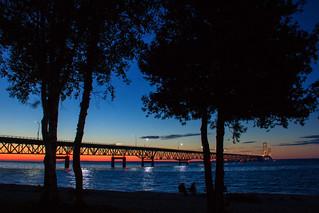 Nightfall At The Bridge