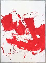 2000.09-2001.02[4] Paper red ink and metal plate oil painting Taipei Shenkeng Caodiwei studio 纸上朱墨与金属板上油画 台北深坑草地尾工作室-35 (8hai - painting) Tags: 2000092001024 paper red ink metal plate oil painting taipei shenkeng caodiwei studio 纸上朱墨与金属板上油画 台北深坑草地尾工作室 yang hui bahai