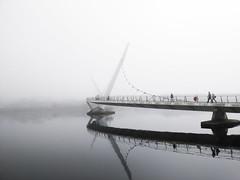 Water Mist (Fiachra J Kelly) Tags: water ireland mist day solo bridge stunning derry
