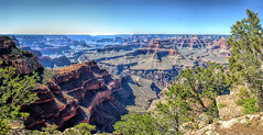 Grand Canyon Pano @ Grand Canyon National Park (<e.cel8>) Tags: panorama grandcanyon usnationaparks arizona coloradoriver coloradoplateu sandstone