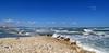 IL MARE. (Salvatore Lo Faro) Tags: mare natura nature sole azzurro riva onde marosi blu lidodelsole rodi gargano puglia italia italy nuvole salvatore lofaro canon g16