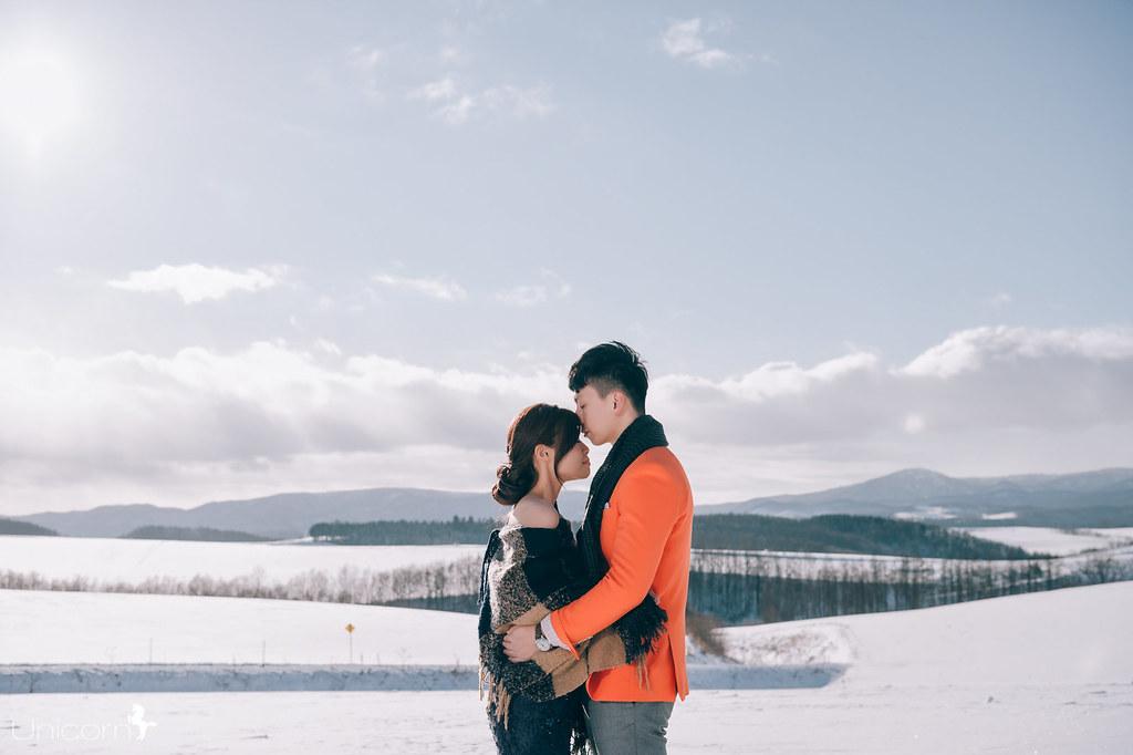 《海外婚紗》維恩 & 梅梅 / 日本北海道 Hokkaido
