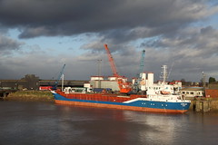 MV Varmland @ Guiness Wharf, Flixborough. (Chris Firth of Wakey.) Tags: varmland guinnesswharf flixborough