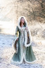 Fantasy Winterdream (pipe notjustaphoto) Tags: dress beautifulgirl fantasy fairytale sunny winter backlight green gold white game thrones mittelalter kleid selbstgemacht wintertag sonne