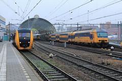 NSR 3447 & 7507 @ Zwolle (Sicco Dierdorp) Tags: ns nsr reizigers dm90 serie3400 buffel zwolle kampen ddz serie7500 station stationskap