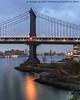 Manhattan Bridge (20171203-DSC04021-Edit) (Michael.Lee.Pics.NYC) Tags: newyork empirestores empirefultonferry brooklynbridgepark manhattanbridge eastriver williamburgbridge night twilight bluehour longexposure aerial lighttrail traffictrail sony a7rm2 voigtlandernoktonclassic35mmscf14