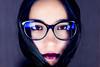 Hair hood (everybodyisone) Tags: woman women face fullframe fe f18 fe55 faces fashion hair human glass glasses eyes eye eyeaf sony sonyilce7rm2 sonysonnartfe55mmf18za zeiss 55mm