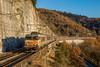 05 décembre 2017 BB 7273 Train 3674 Cahors -> Paris Mercuès (46) (Anthony Q) Tags: mercuès occitanie france 05 décembre 2017 bb 7273 train 3674 cahors paris 46 bb7200 intercités ic téoz corail voiture bb7273