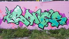 Bones... (colourourcity) Tags: streetartaustralia streetartnow streetart streetartmelbourne graffiti graffitimelbourne awesome colourourcity nofilters original bigburners burner burners letters wildstyle theboneyard bones kos