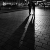 Berlin (ale neri) Tags: street blackandwhite shadow light people night aleneri berlin deutschland germany europe streetphotography bw alessandroneri