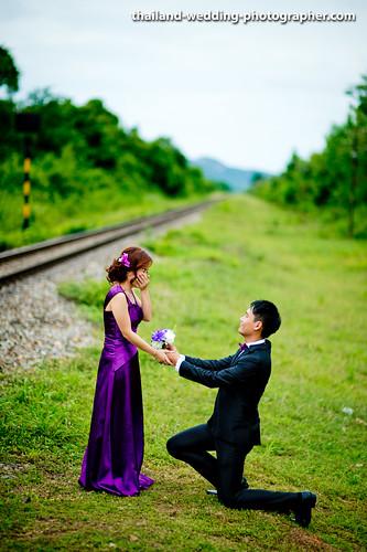 Thailand Hua Hin Suan Soan Pradipat Train Station | NET-Photography Thailand Wedding Photographer