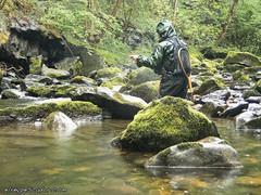 Flyfishing (eRdAvE) Tags: flyfishing gandara cantabria