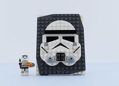 LEGO Brick Sketch #9😍 (Alex THELEGOFAN) Tags: lego starwars stormtrooper empire draw face paint art chris mcveigh powerpig