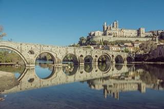 Cathédrale de Saint-Nazaire et le Pont Vieux