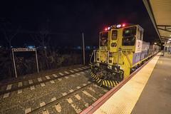 Sandite at Oyster Bay (Nick Gagliardi) Tags: train trains long island railroad lirr li emd diesel mp15ac electromotive division work motor sandite oyster bay branch