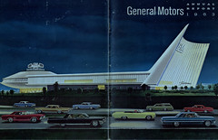 1963 GM Annual Report (coconv) Tags: car cars vintage auto automobile vehicles vehicle autos photo photos photograph photographs automobiles antique picture pictures image images collectible old collectors classic ads ad advertisement postcard post card postcards advertising cards magazine flyer prestige brochure dealer 1963 gm annual report 1964 64 chevrolet chevy impala 4 door hardtop 2 sport sedan coupe pontiac tempest oldsmobile olds cutlass f85 special station chevelle malibu buick riviera cadillac fleetwood dynamic 88 convertible art illustration drawing painting