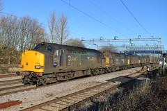 DRS Convoy (davidvines1) Tags: railroad rail diesel class37 class57 class66 drs directrailservices greateasternmainline locomotive