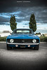 1969 Camaro SS Front (Dejan Marinkovic Photography) Tags: 1969 chevrolet chevy camaro supersport blue american muscle car front