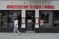 ministry of herring and vodka (rafasmm) Tags: łódź lodz poland polska europe city citycenter streetphoto streets citynature outdoor ministry herring vodka