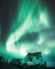 Hunting the lights (R.J. Photography) Tags: auroraborealis nightsky nightphotography starrynight northernlights sweden