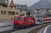 MGB Stalden-Saas 29.11.2017 (David Knap) Tags: vlak železnice train railway mgb staldensaas zermatt visp brig matterhorn