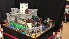 Castle Finkenbinder (Lego Wizardry) Tags: diorama display stone legos gate wall video scene build creation afol village legocastle castle medieval legomedieval moc legomocs legomoc lego