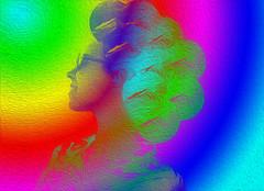 Art and color (Poldarkk) Tags: art color arte sandra daugther illustration poldarkk irun creative