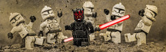 Sector Not Clear! (Lego_LUTs) Tags: yellow purple green blue storm trooper star wars war lego outdoors clone troopers first order blasters afol minifigs minifigures bricks blocks canon toy toys force legos t3i republic people photoadd atst death rogue one dirt practical effects orange 60mm darth maul battlefront