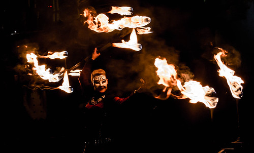 Fire Lady @ Creepy Carnival 2017