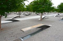 Memorial benches (afagen) Tags: arlington virginia pentagonmemorial national911pentagonmemorial 911 memorial arlingtoncounty