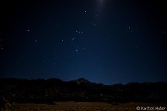 Alabama Hills - By The Light Of The Moon (www.karltonhuberphotography.com) Tags: 2017 alabamahills astrophotography california earlymorning easternsierra easternsierrafoothills horizontalimage karltonhuber landscape light lonepine lonepinepeak moonlight nightsky orion orionconstellation outdoors ridgeline stars upearly wideangle wildplaces