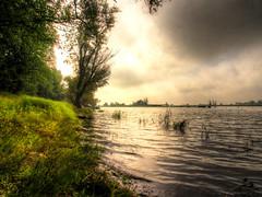 170817-5789-97 _Oderbruch_SOOC_DE1_PS_ (Pixel-Cat) Tags: oder river stream fluss strom wasser water ufer shore morgen morning sunset sonnenaufgang altküstrinchen starykostrzynek polen poland olympus omd em5 hdr mzuiko1250mm13563iiez