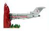 Licensed To MOC (Brick Flag) Tags: lego moc beastieboys licensedtoill boeing 727 darkred jet plane albumcover aeroplane airplane art