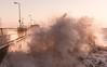 Rough Sea During Sunrise (GIgaYork) Tags: rough sea waves wave seas water stormy big sunrise bridlington yorkshire humberside england coast coastline bigwaves stormyseas