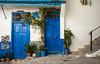 Two In Blue (TablinumCarlson) Tags: afrika africa marokko morocco tanger tür door blue blau medina altstadt city oldtown leica leicam m240 summicron fassade tangier طنجة tandscha tanga maghreb straitofgibraltar strait gibraltar maroc 28mm northernafrica nordafrika