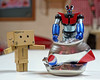 Paso 2 (mike828 - Miguel Duran) Tags: juguete toy figura figure mazinger danbo danboard revoltech lata can sony rx100 mk4 m4 iv robot