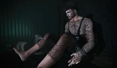 † 957 † (Nospherato Destiny) Tags: secondlife sl avatar newreleases event blogger tattoo dog malefashion guy men