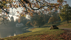 Studley Royal Water Gardens (Rob A Atkins) Tags: nationaltrust fountainsabbey studleyroyal watergarden autumn frost landscape waterscape ripon yorkshire