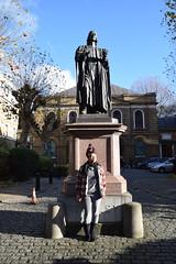 DSC_2710 John Wesley's Chapel City Road London with Alesha from Jamaica (photographer695) Tags: john wesley's chapel city road london alesha from jamaica