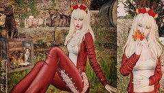 #902 (Vicky Victoria Macnelly) Tags: ayashi elise candydoll blueberry belleposes sn4 tannenbaum whimsical