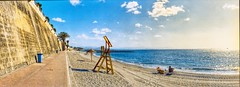 IMG_20171108_0008 (anyera2015) Tags: ceuta playa panorámica panorama noblex135s noblex noblex135 135s 135 kodak colorplus 200 kodakcolorplus200 hdr