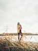 Nina, 2017, Ingolstadt (Benjamin Stark) Tags: nature photoshooting portrait outdoor germany girl woman sony slta57 lake water ingolstadt fashion