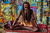 . (robbie ...) Tags: india varanasi river ganges sadhu holy man beard meditation bbe there for 10 years religion